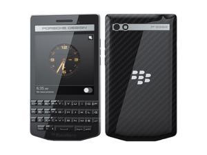 BlackBerry Porsche Design P'9983 64GB RHB121LW (No CDMA, GSM only) Factory Unlocked 4G/LTE Smartphone with English QWERTY Keypad (Carbon)