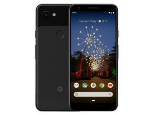 "Google Pixel 3A (2019) G020F 64GB (5.6"" inch, GSM, 4G/LTE, CDMA) Factory Unlocked Smartphone - Just Black"