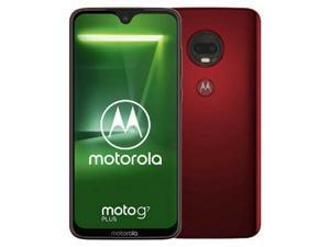 Motorola Moto G7 Plus Dual-SIM XT1965 64GB Factory Unlocked 4G/LTE Smartphone - Viva Red