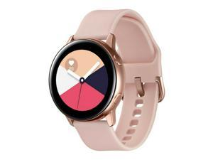 "Samsung Galaxy Watch Active SM-R500 (1.1"" Display, 20mm Band) 4GB Tizen OS Bluetooth Smartwatch - Rose Gold"