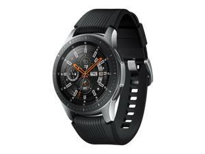 """Samsung Galaxy Watch (46mm, 1.3"""" Display, 22mm Band) SM-R800 4GB Tizen OS Bluetooth Smartwatch - Silver"""