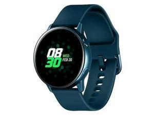 "Samsung Galaxy Watch Active SM-R500 (1.1"" Display, 20mm Band) 4GB Tizen OS Bluetooth Smartwatch - Green"