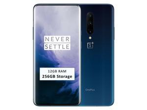 OnePlus 7 PRO 256GB ROM + 12GB RAM Dual-SIM (GSM, CDMA) Factory Unlocked 4G/LTE Smartphone - Nebula Blue