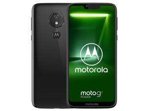 Motorola Moto G7 Power XT1955 64GB Dual-SIM (GSM Only, No CDMA) Factory Unlocked 4G/LTE Smartphone - Ceramic Black