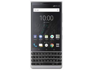BlackBerry KEY2 64GB (Single-SIM, BBF100-1, QWERTZ Keypad, GSM Only, No CDMA) Factory Unlocked 4G/LTE Smartphone - Silver
