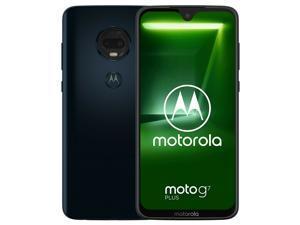 Motorola Moto G7 Plus Dual-SIM XT1965 64GB Factory Unlocked 4G/LTE Smartphone - Deep Indigo