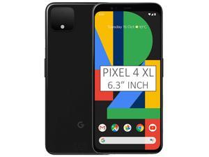 Google Pixel 4 XL G020P 128GB 6.3 inch Android (GSM Only, No CDMA) Factory Unlocked 4G/LTE Smartphone - Just Black