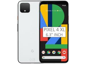 Google Pixel 4 XL G020P 128GB 6.3 inch Android (GSM Only, No CDMA) Factory Unlocked 4G/LTE Smartphone - Clearly White