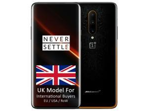 OnePlus 7T Pro McLaren Limited Edition HD1913 256GB + 12GB RAM (GSM + CDMA) Factory Unlocked 4G/LTE Smartphone - Papaya Orange