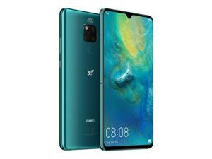 Huawei Mate 20 X (5G) Dual-SIM 256GB + 8GB RAM (GSM Only | No CDMA) Factory Unlocked Android Smartphone - Emerald Green