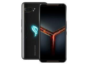 ASUS ROG Gaming Phone 2 Dual-SIM ZS660KL 512GB ROM + 12GB RAM (GSM Only | No CDMA) Factory Unlocked 4G/LTE Smartphone - Black