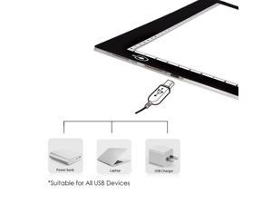 A4 Tracing Light Box,Portable LED Light Table Tracer Board Dimmable Brightness Artcraft Tracing Light Pad For Artists Drawing Sketching Tattoo Animation Designing