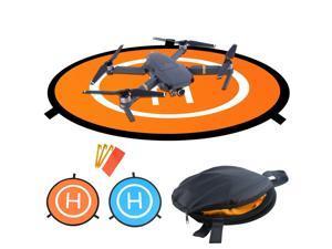 Drones Landing Pad Werleo Universal Waterproof D 75cm / 30'' Portable Foldable Landing Pads For RC Drones Helicopter, PVB Drones, DJI Mavic Pro Phantom 2/3/4/ Pro, Antel Robotic, 3DR Solo & More