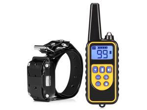 Dog Training Collar Waterproof Rechargeable Upgraded 2600ft Remote Dog Shock Collar with Beep Vibration and Harmless Shock for Puppy Small Medium Large Dogs