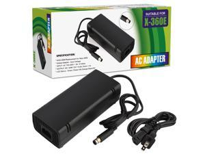 XBOX 360 E Power Supply Power Supply Cord AC Adapter Replacement Charger for Xbox 360 E 100-240V Auto Voltage Black