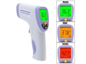 Digital Infrared Forehead Thermometer Instant Read for Baby Kids & Adults Non-Contact Handheld Body Infrared Thermometer Temperature Thermometer with A Storage Bag