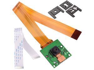 Werleo for Raspberry Pi Camera Module 5MP 1080p OV5647 Sensor with 15 Pin FPC Cable + Pi Zero Ribbon Cable 15cm for Raspberry Pi 3 2 Model B B+ A+ and Pi Zero -  Raspberry pi Camera