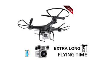 FPV RC Drone Drone JJRC H68 RC Quadcopter Drone with 720P HD Camera Live Video WIFI FPV Quadcopter with Headless Mode Altitude Hold Long Range