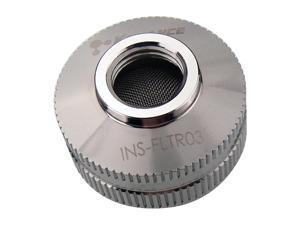 Koolance Inline Coolant Filter (INS-FLTR03), Nickel