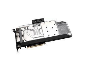 EKWB EK-FC Classic Strix RTX 2080 Ti RGB GPU Waterblock, Nickel/Plexi