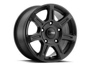 Ultra 450SB Toil Van Satin Black 16x6.5 6x130 45mm (450-6636SB+45)