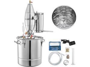 VEVOR 8 Gal Home Stainless Steel Distiller Water Alcohol Whiskey Moonshine Still Kit