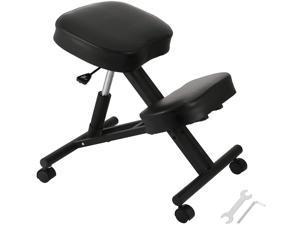 VEVOR Ergonomic Kneeling Chair Kneeling Stool Office Chair for Body Shaping Relieveing Stress