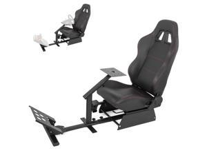 VEVOR Racing Simulator Cockpit Steering Wheel Stand Gaming Chair For Logitech G29 T500