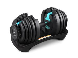 VEVOR Adjustable Dumbbell Weight Set Selecttech 552 Fitness Workout Gym,Get A Good Figure in 2 Weeks,Suitable for Both Men and Women