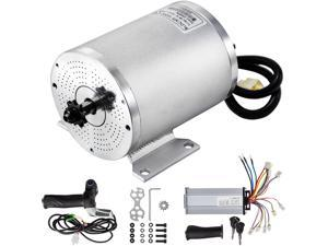 VEVOR 2000W 48V Brushless DC Motor Kit with 42A 4300RPM High Speed Electric Scooter Motor for golf carts and mobility carts