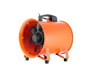 VEVOR Utility Blower 12 Inch 0.7HP 2295 CFM 3300 RPM Portable Ventilator High Velocity Utility Blower Fan Multifunctional Ventilator Fume Extractor