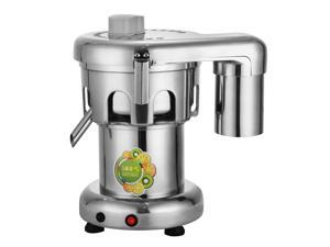 VEVOR 370W Commercial Juice Extractor Heavy Duty Commercial Juicer Aluminum Casting and Stainless Steel Constructed Centrifugal Juice Extractor Juicing both Fruit and Vegetable