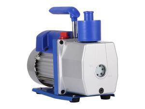 VEVOR Single Stage Vacuum Pump 7CFM 1/2HP Rotary Vane Refrigerant Vacuum Pump AC Deep HVAC Vacuum Pump for Refrigeration and Air Conditioning Systems