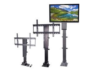 """VEVOR Pro Swivel Motorized TV Lift 32""""-70"""" TV Lift Mechanism 1000mm Lift Mount Auto Lifting Adjustable Height with Remote Controller for Plasma LCD LED TV and Monitors"""