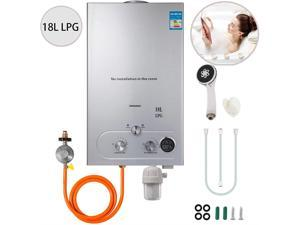 VEVOR VEVOR 18L Upgrade Type Tankless Propane Water Heater 4.8GPM Propane