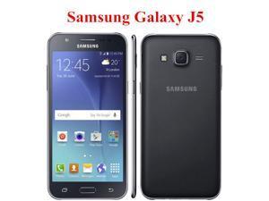 "Original Samsung galaxy J5 2015 J500F Unlocked Cell Phone Quad core Snapdragon 1.5GB RAM 16GB ROM 5.0 "" mobile phone"