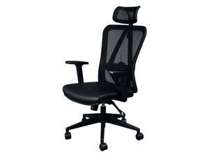 Titan ERGO TI-9606P Ergonomic Mesh Rolling Desk Chair for Office and Gaming (Black)