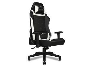 EWin Gaming Office Chair KTB Knight Series Ergonomic With Head and Back Pillows,  (Black and White)