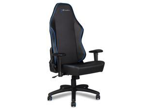 EWin Gaming and Office Chair KTB Knight Series Ergonomic With Head and Back Pillows (Black and Blue)
