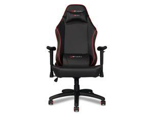 EWin Gaming Office Chair KTC Knight Series Ergonomic With Head and Back Pillows, (Black and Red)