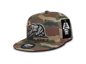 f788c882aec13 WOODLAND CAMO CALIFORNIA REPUBLIC SNAPBACK HAT ...