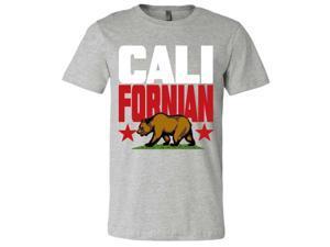 f40e4ac329021f Californian Mens Lightweight Fitted T-Shirt tee ...