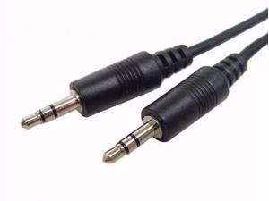 Calrad 55-897-6 Stereo Mini Cable w/ 3.5mm Plugs, 6'