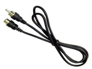 Calrad 55-983 Extension Cable w/ RCA Male Plug to RCA F Jack 6 Long