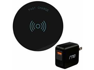 Wireless Charging Pad For: Apple iPhone, Samsung Galaxy, Note 8, LG, QC Charger