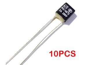 10PCS RH145 145C Degree Thermal Fuse RH temperature fuse 3A 250V fan motor thermal fuse