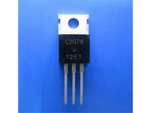 20pcs 2SC2078 -TO220 C2078 27Mhz RF Power Amplifier