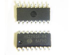 10pcs/lot SC2260 HS2260A-R4 SC2260R4 SC2260-R4 SOP-16 Wireless Remote Control codec chip