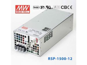 RSP-1500-12 1500W 12V125A single output with power factor correction can be connected in parallel with Mean Well switching power supply