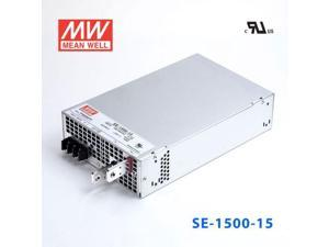 SE-1500-15 1500W 15V100A single output Mean Well power supply (SE series-built-in case)